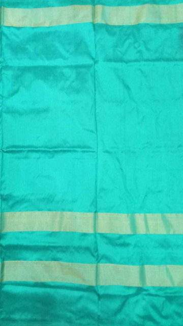 Shop Pochampally Ikkat saree with Green and deer border Online