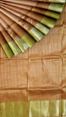 Contemporary Mango Butta on a Self border Silk Mix saree-yespoho