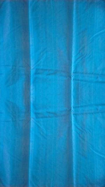 Shop Blue with designer rich pallu Silk Cotton saree Online