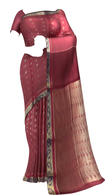 Dusty Magenta Silk Cotton Saree With Butta Design Cotton Sarees Limited Edition Yespoho Sarees Gift Sarees Handpicked Collections New Arrivals
