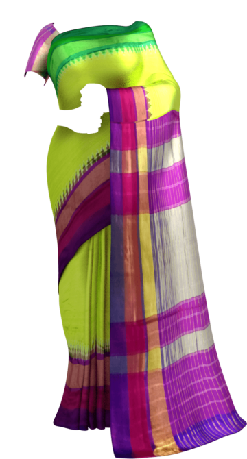 Sparkling Parrot Green Pochampally Ikat Silk Saree Happy Holidays Sale Limited Edition Saree20 Thanksgiving Year End Dhamaka Yespoho Sarees New Arrivals Pochampally Sarees Ikkat Sarees