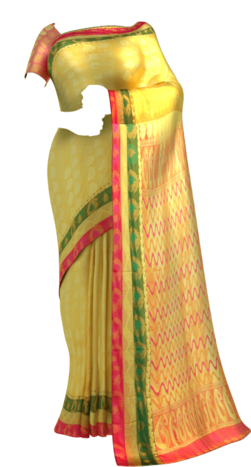 Gorgeous Treasure Color Self-embossed Kanchipuram Saree Kanchipuram Silk Saree Yespoho Sarees Kanchipuram Silk Sarees