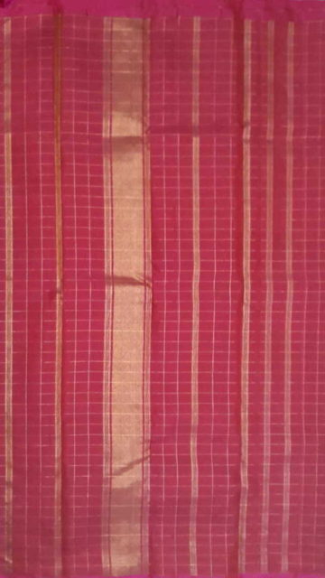 Maroon Maroon Color Pure Zari Kanchipuram Silk Saree