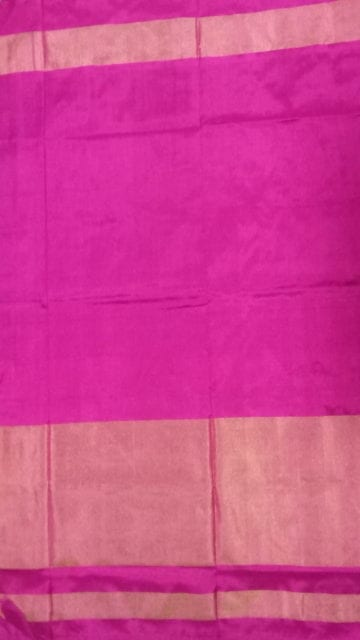 Shop ikat special half tissue saree with elephant and sparrow design Online