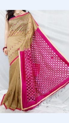 Butter Silk Cotton Saree
