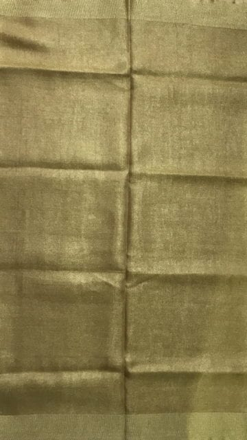 Shop Golden Tissue linen with Dovi border Online