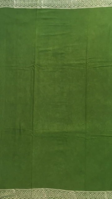 Shop Mehandi Green Designer Hand Block Print Cotton Saree Online
