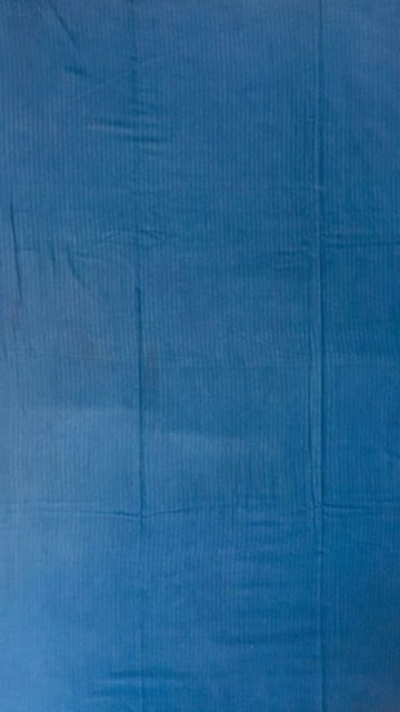 Shop Blue Designer Hand Block Print Cotton Saree Online