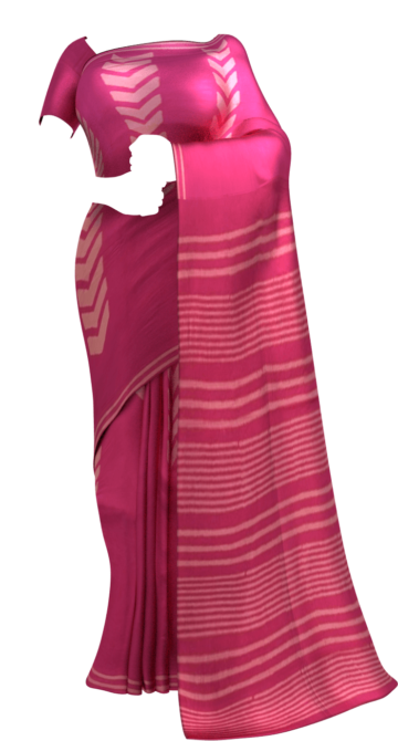 Magenta Designer Hand Block Print Cotton Saree Cotton Sarees Yespoho Sarees Handpicked Collections New Arrivals