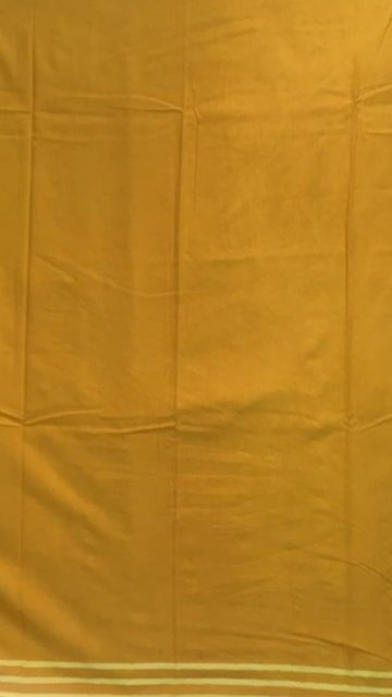 Shop Mustard Yellow Designer Hand Block Print Cotton Saree Online