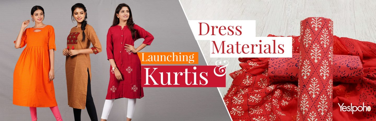Kurtis and Dress Materials Collection