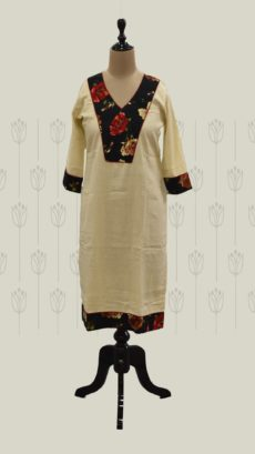 Light Brown Long Kurti-yespoho