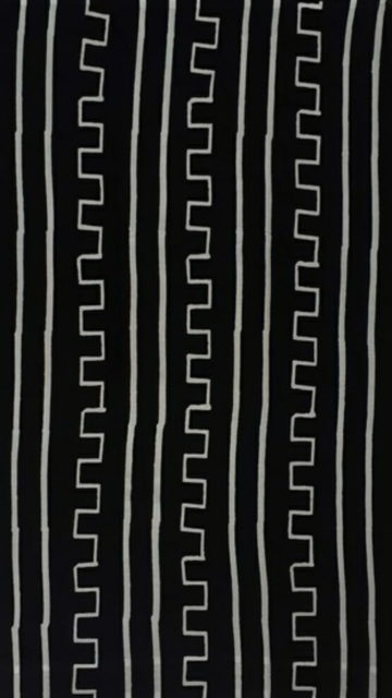 Black & White Black &White Traditional Hand Block Printed Cotton Saree