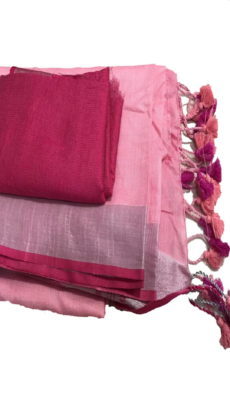 Cotton Dark Pink and Baby Pink Salab-yespoho