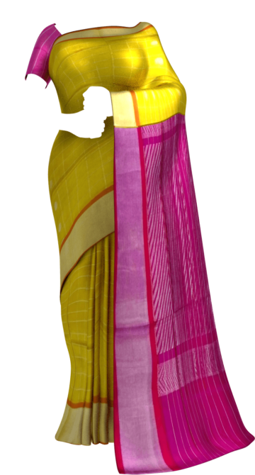Dark Pink& Light Green Designer Traditional Silk Cotton Saree Silk Cotton Sarees Yespoho Sarees New Arrivals
